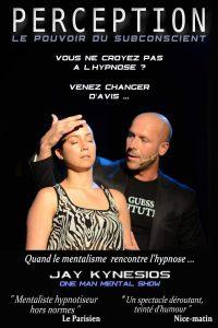 Jay Kynesios dans Perception : hypnose et mentalisme La nouvelle comédie Affiche