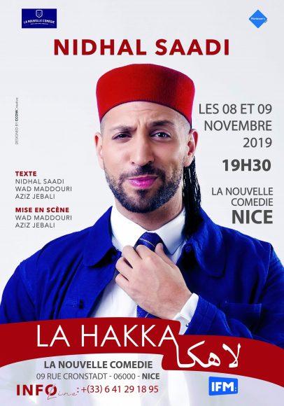 Nidhal Affiche Saadi dans La hakka la hakka