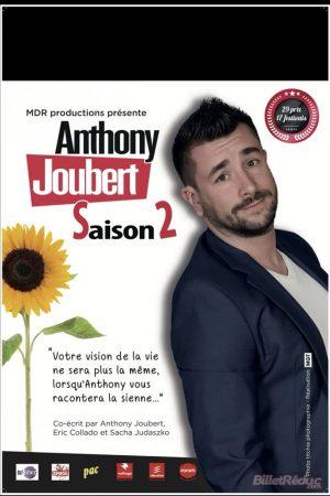 Affiche spectacle nouvelle comédie : Anthony Joubert dans Saison 2