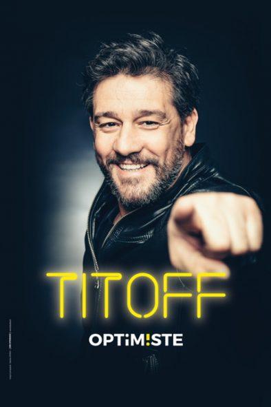 Affiche Titoff dans Optimiste