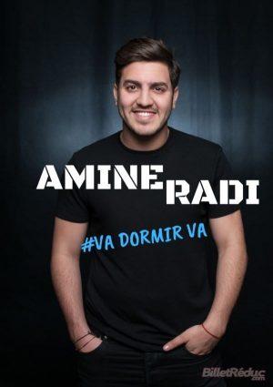 Affiche spectacle la nouvelle comédie Amine Radi dans Va dormir va
