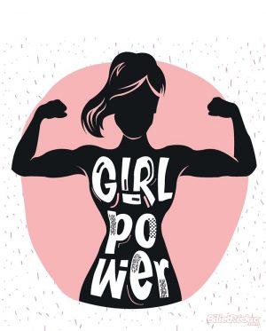 affiche spectacl la nouvelle comédie nice girl power