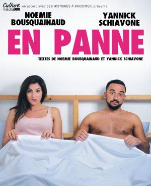 affiche spectacle EN PANNE, La Nouvelle Comédie, Nice