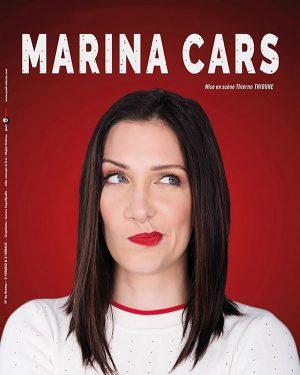 Affiche spectacle Marina Cars, La nouvelle Comédie Nice